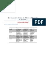 1er Encuentro Virtual de Valores y Educación act3