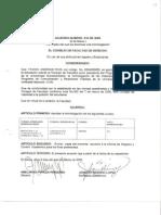 Acuerdo 010-2005