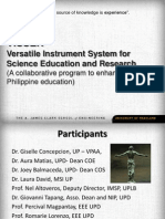 VISSER_Versatile Instrument System for Science Education and Research