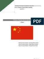 CHINA- Turism International
