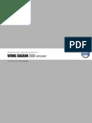 tp39127202 2008 v70 xc70 s80 supplement wiring diagram   airbag   ignition  system  scribd