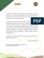 ConferenCIA Em Washington - Dr Carlos Varela