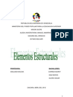 ELEMENTEOS ESTRUCUTURALES