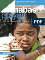 Prayer Diary May/June 2012