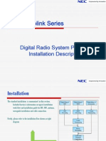 Pasolink V4 Installation and Initial Lineup Description