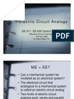 Electric Circuit Analogs