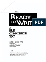Ready to Write a First Composition Text