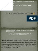 Data Acquisition Using ARM