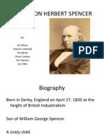 Herbert Spencer Ppt