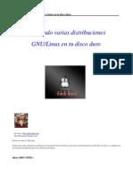 Intalación de varias distribuciones de Linux en el mismo PC - by Akira 2005