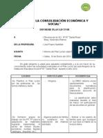 Informe Del Plan Lector 2010