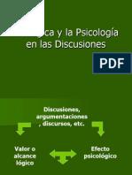 La Lógica y la Psicología en las Discusiones