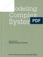 Modeling Complex Systems Nebraska Symposium on Motivation Vol 52