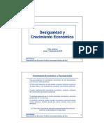 Desigualdad y Crecimiento Económico - FELIX JIMENEZ