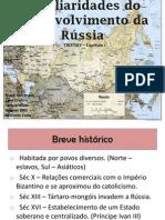 Peculiaridades do desenvolvimento da Rússia (1)