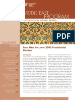 Iran After the June 2005 Presidential Election