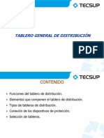 Tablero general de distribución