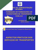 aspectos práticos dos serviços de transportesl [Modo de Compatibilidade]
