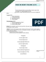 Drugs Used in Cardiac Failure (CCF)