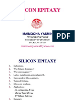 Silicon Epitaxy