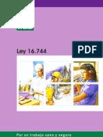 Ley N° 16.744 Esablece normas sobre accidentes de trabajo y enfermedaes profesionales
