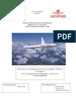 Alternatives stratégiques pour une compagnie aérienne « classique »  face à l'attaque des Compagn