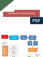 Handling Emergencies Ppt Fordec Nits