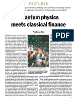Finance and Physics Article 1