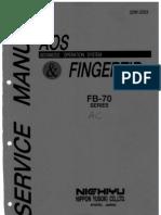 SERVICE MANUAL FB70AC FINGERTIP(PESCADOS IBAÑEZ)