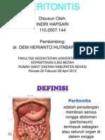 Pp Peritonitis Hp