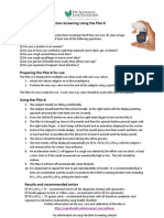 Using the Piko 6 and Copd6 Instruction Sheet