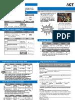 Registration Summer 2012
