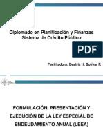 3ra clase Credito Público