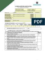 Planificación Didáctica básica II fall 2012