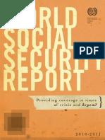 OIT - Reporte Mundial de Seguridad Social 2010-2011