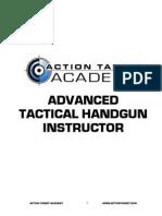 Advanced Tactica Handgun Instructor Manual
