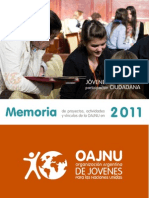 Memoria OAJNU 2011