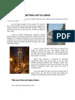 Getting Lost in Lisboa