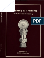 Teaching & Training at Pa-Auk Forest Monastry, Compiled by Bhikkhu Moneyya