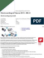 Electrocardiograf Omron HCG –801-E