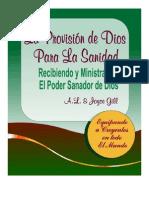 SANIDAD DE DIOS