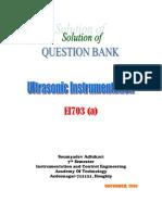 Ultrasonic Solution