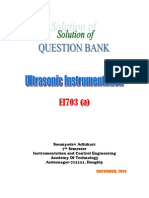 Ultrasonic Solution