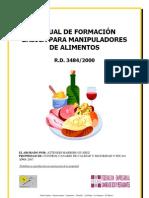 Manual Manipulador de Alimentos