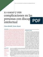 El duelo y sus complicaciones en las personas con discapacidad intelectual
