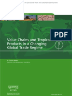 Value Chains and Tropical Products in a Changing Global Trade Regime