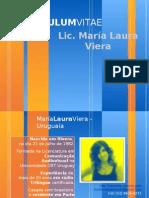 Cv Maria Laura Viera