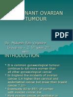 Malignant Ovarian Tumour- By Nukesh