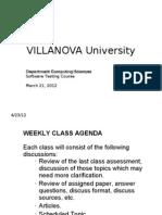 VU - Software Testing March 21