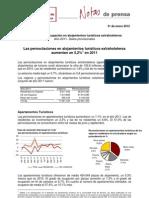 Encuestas de ocupación en alojamientos turísticos extrahoteleros eoat1211